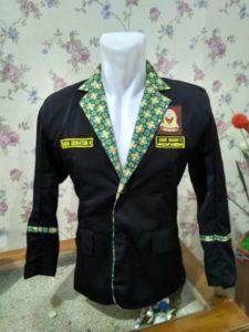 Jas Almamater OSIS SMA Madapangga Kombinasi Batik
